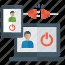 adaptive design, app development, multimedia design, responsive design, web designing icon