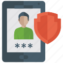 android antivirus, mobile password, mobile security, protection, security lock icon