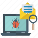 bug tracking, bug find, testing, debugging, computer virus, bug monitoring