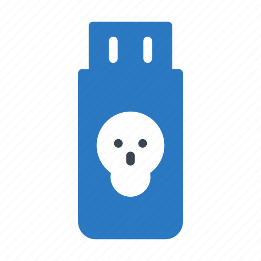 Drive, malware, storage, usb, virus icon - Download on Iconfinder