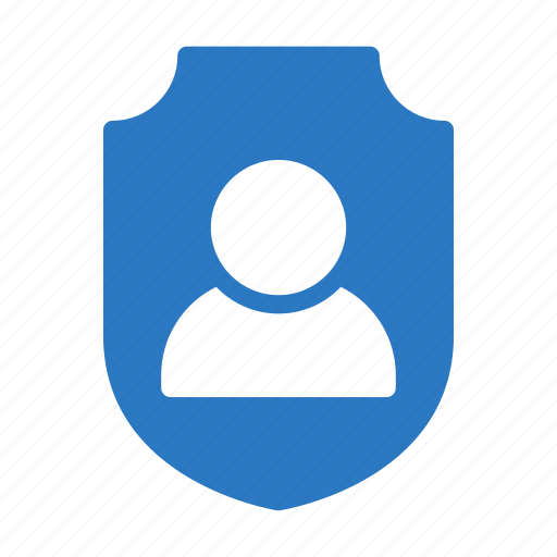 profile, protection, secure, shield, user icon
