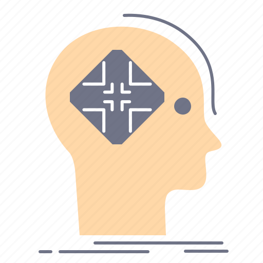 Advanced, cyber, future, human, mind icon - Download on Iconfinder