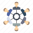 cooperation, friends, game, games, playing icon
