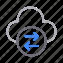 cloud, data, exchange, storage, transfer