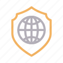 global, internet, protection, secure, shield