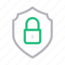 lock, private, protection, secure, shield