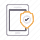 mobile, phone, protection, secure, shield