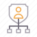 connection, network, protection, shield, user