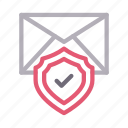email, inbox, message, protection, secure