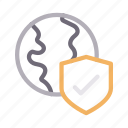 global, online, protection, secure, shield