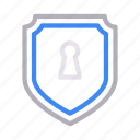 keyhole, private, protection, secure, shield