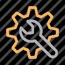 cogwheel, configure, fix, repair, setting
