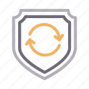 protection, refresh, reload, security, shield