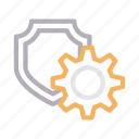 gear, protection, secure, setting, shield