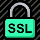 lock, padlock, security, ssl icon