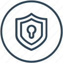 access, protection, security, shield