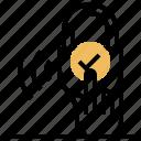authentication, owner, padlock, unlock, verified