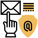 email, encryption, letter, protection, shield