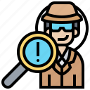cybercrime, hacker, malware, ransom, spyware icon