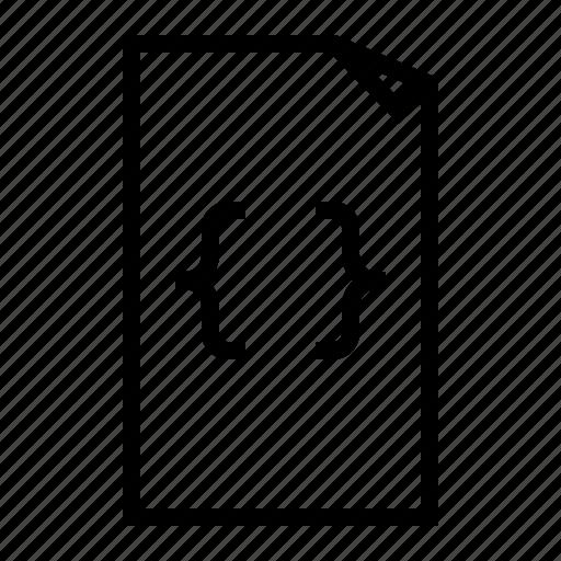 css, data, file, type icon