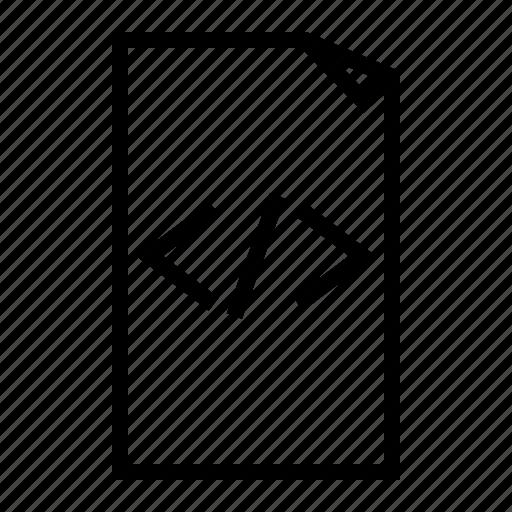 file, html, sheet icon
