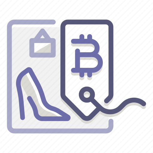 accepted, bitcoin, commerce, pricing, retailer, shop, store icon