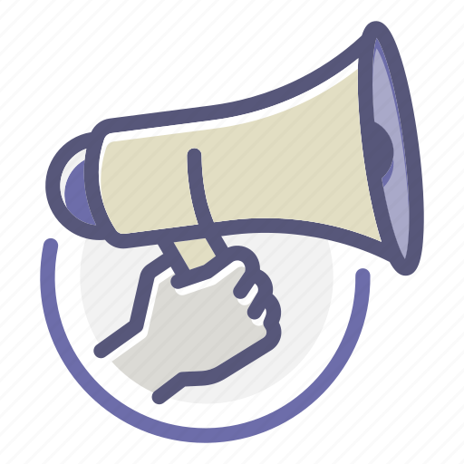 announcement, campaign, communicating, company, marketing, protest, release icon