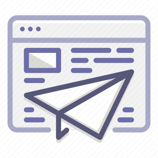 campaign, email, emailing, marketing, newsletter, online, sending icon