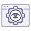 analytics, engine, optimization, search, seo, views, visibility icon