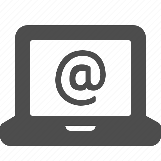 @, computer, internet, laptop, web icon