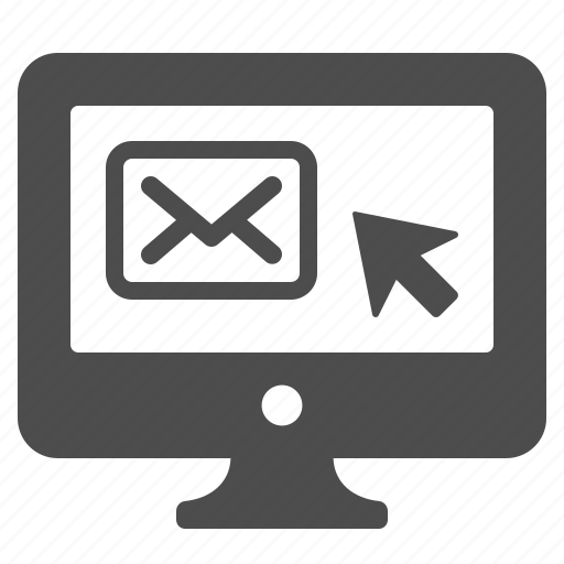 computer, desktop, email, envelope, mail, monitor, screen icon
