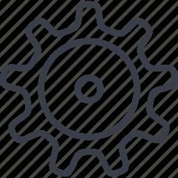 cog, cogwheel, invention, setting icon