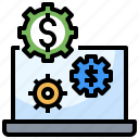 business, computer, device, screen, software icon