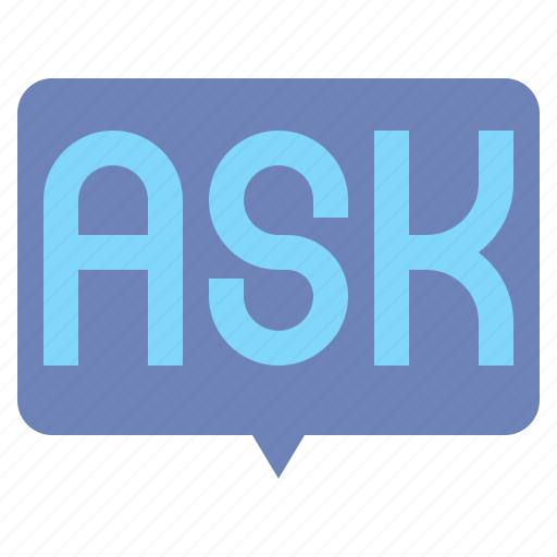 ask, customer, help, support icon