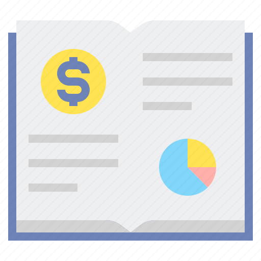 book, investing, investment, value icon