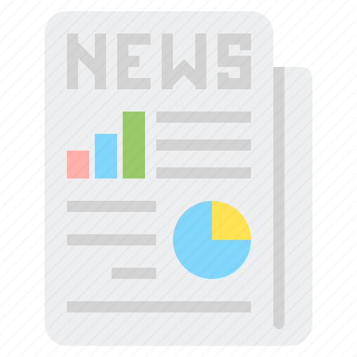 breaking, financial, latest, news, report icon