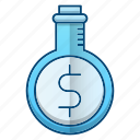 investment, lab, laboratory, research icon