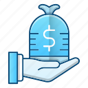 income, investment, money, profit icon
