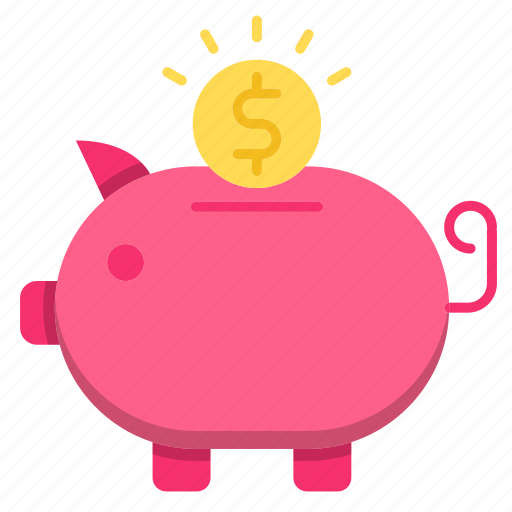 bank, banking, finance, investments, piggy icon