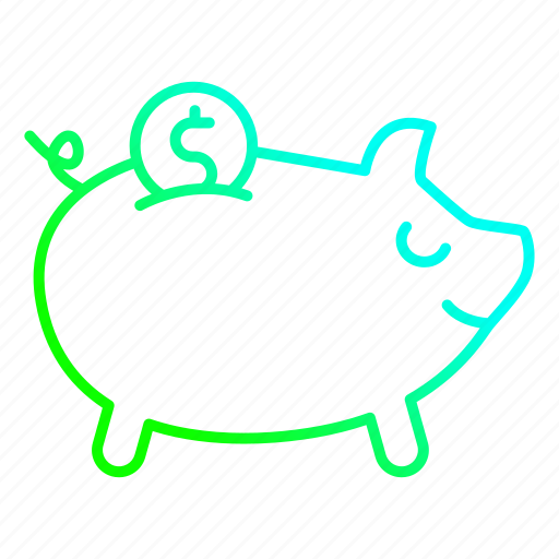 bank, banking, investment, piggy, savings icon