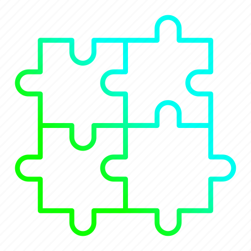 investment, jigsaw, management, puzzles, solution, strategy icon