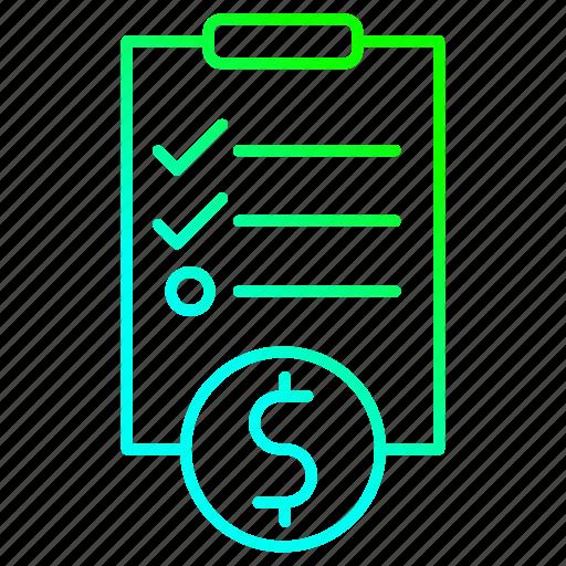 Checklist, clipboard, investment, survey icon - Download on Iconfinder