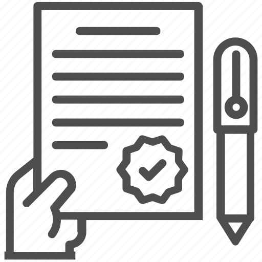 agreement, business, contract, deal icon
