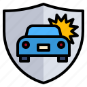 car, guard, health, insurance, life icon
