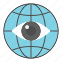 business, finance, fund, investment, money, surveillance icon
