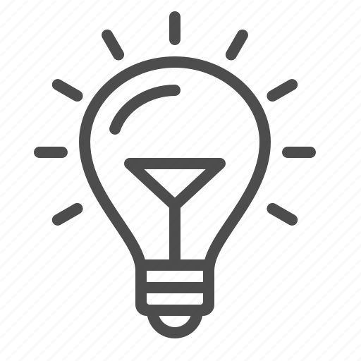 creativity, electricity, idea, light bulb icon