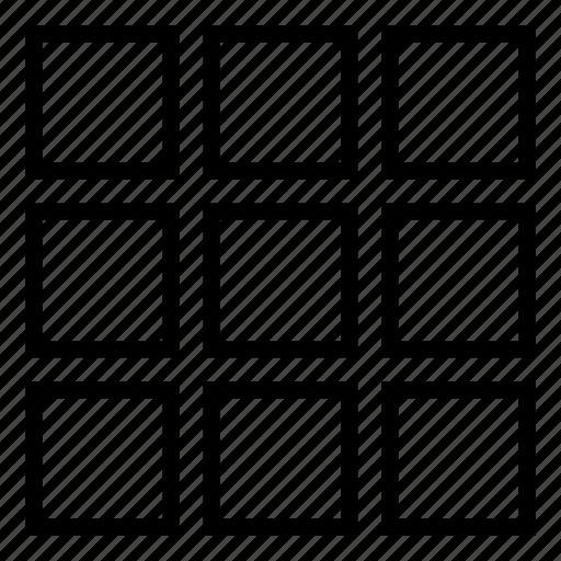 dial pad, grid, ios9, key, key pad icon