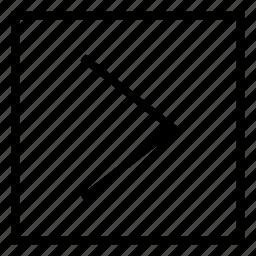 arrow, direction, forward, ios9, next, play icon