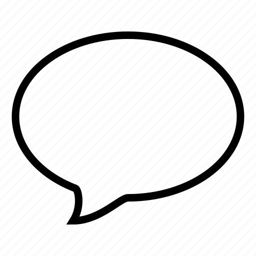 bubble, chat, communication, conversation, ios9, speech, talk icon
