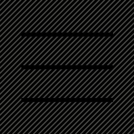 donut, ios9, lines, menu, nav, navigation icon